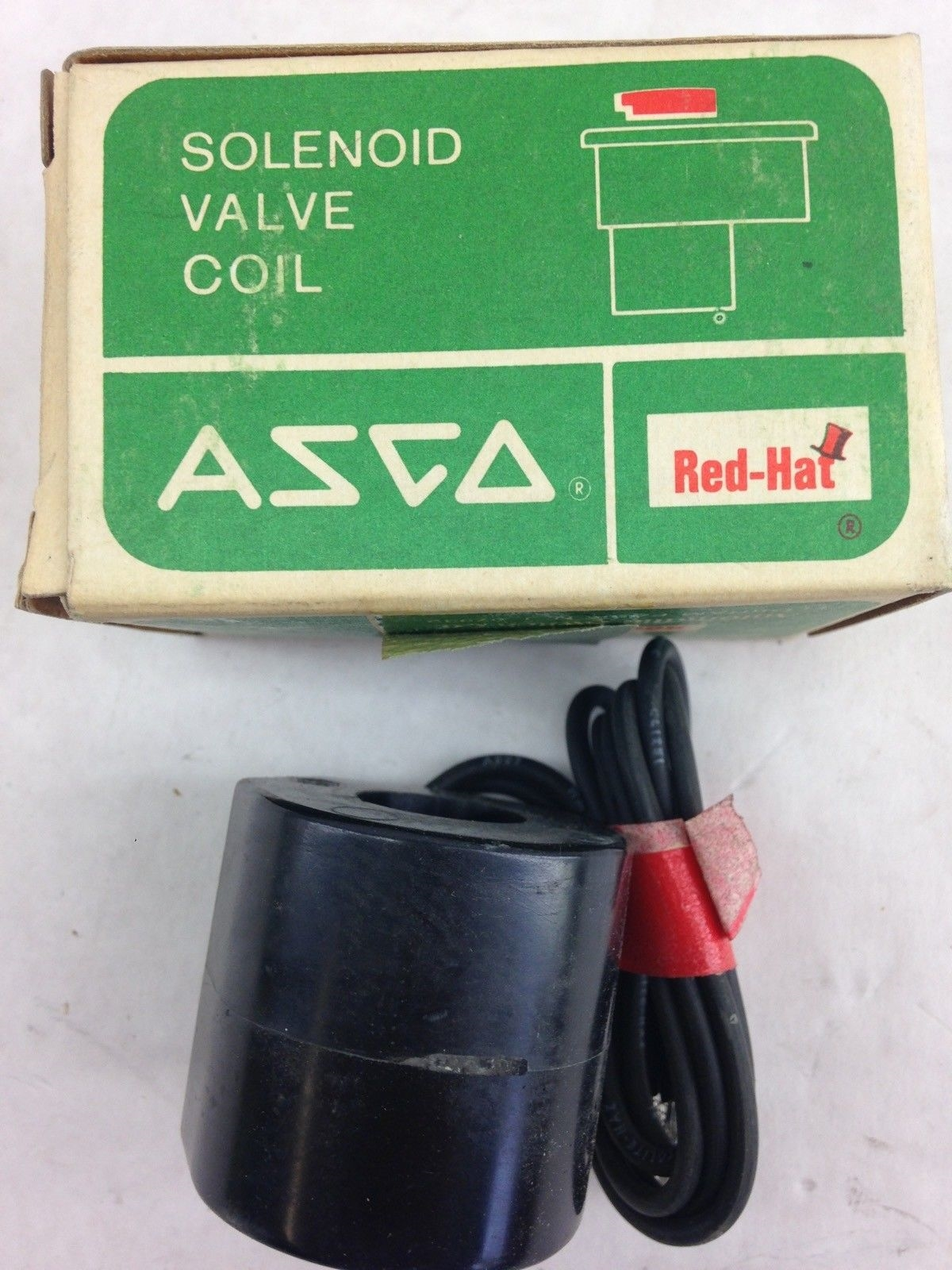 ASCO RED HAT 96-817-1-D SOLENOID VALVE COIL (F283) 1