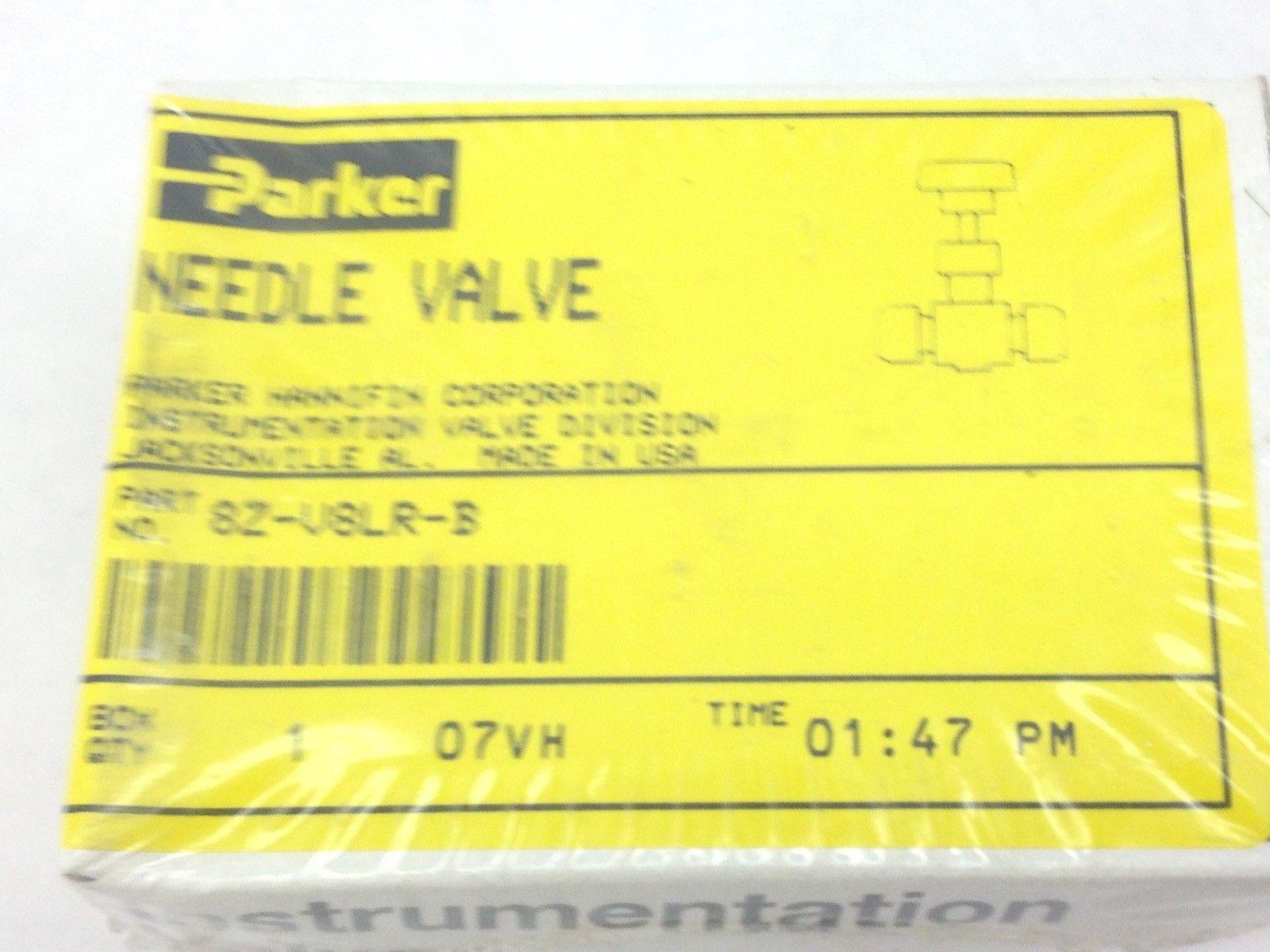 PARKER 8Z-V8LR-B NEEDLE VALVE (A826) 1