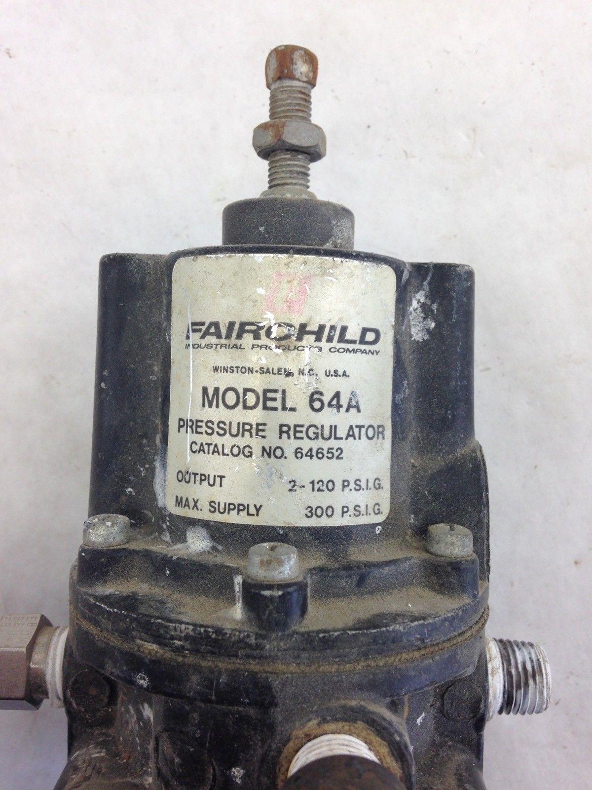 FAIRCHILD 64A PRESSURE REGULATOR (B443) 2