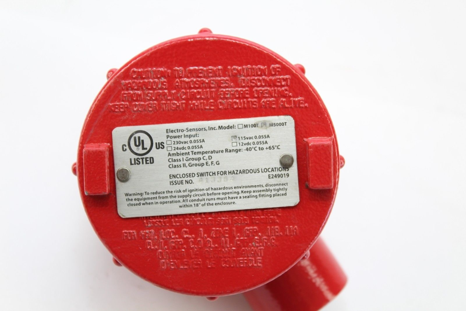 FAST SHIP! ELECTRO-SENSORS M5000T SPEED SWITCH NEW!!! (J50) 2