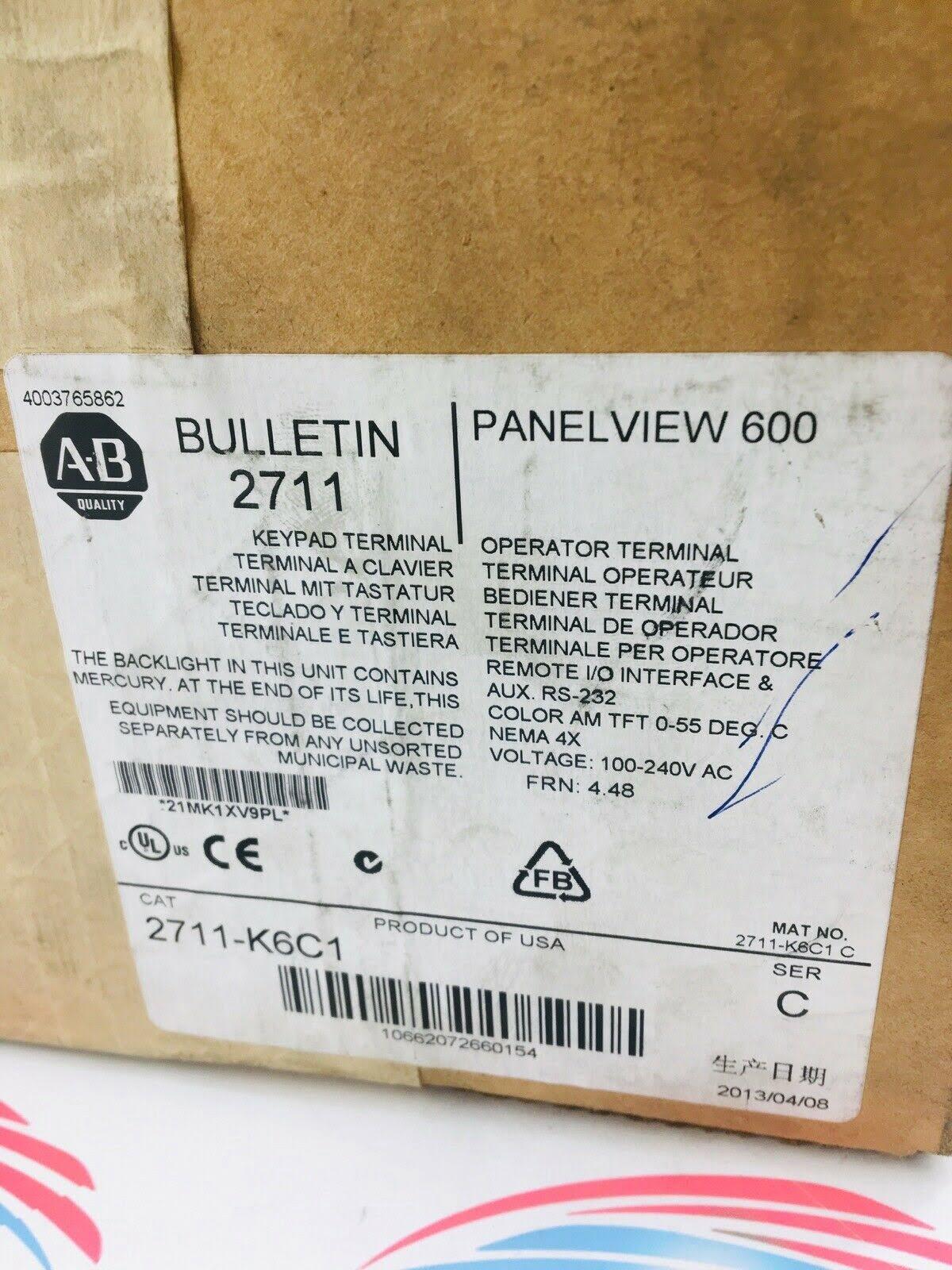 Allen-Bradley 2711-K6C1