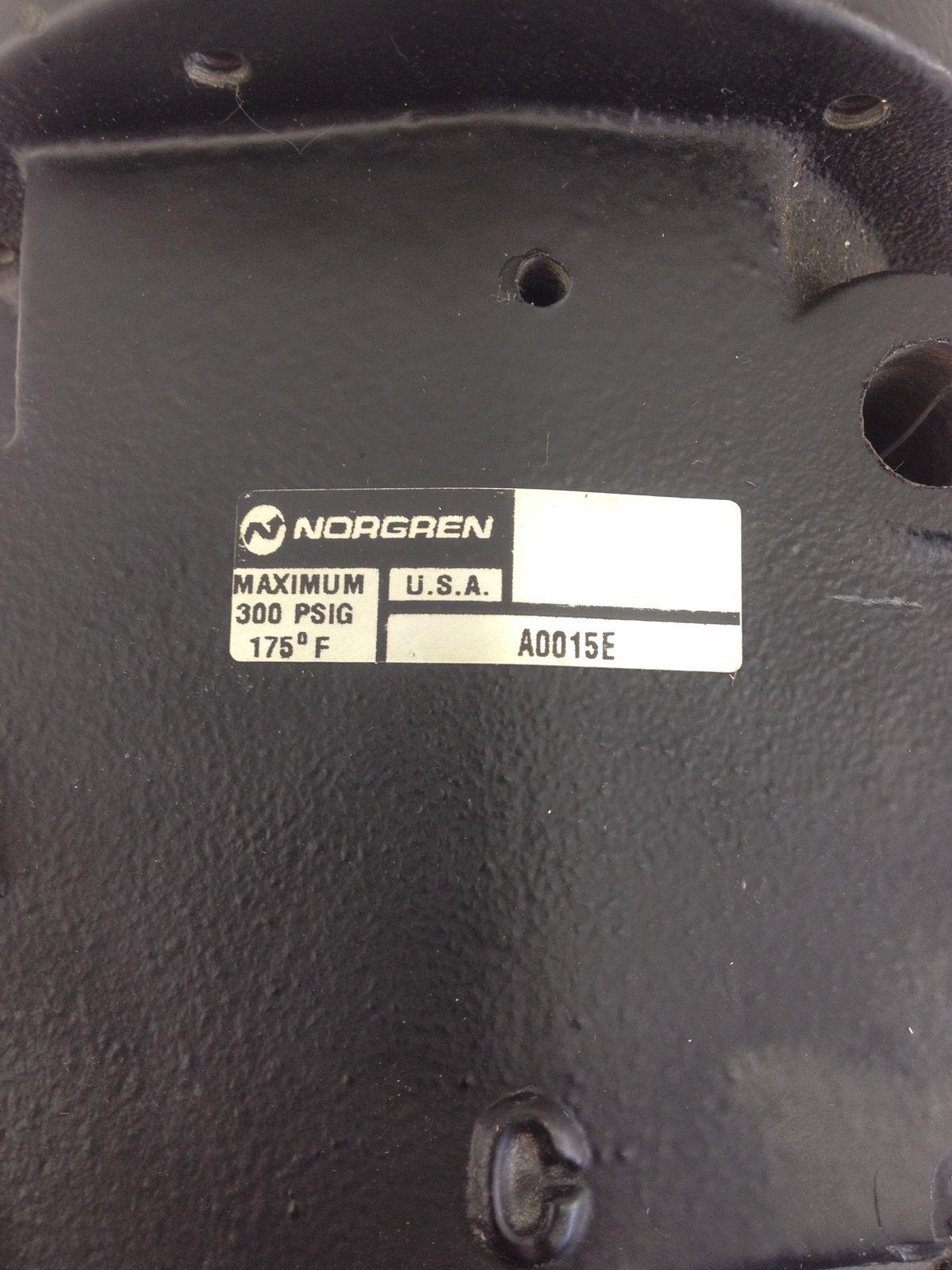 NEW! NORGREN A0015E SMOOTH START VALVE 701240-A 300PSIG FAST SHIP!!! (B212) 2