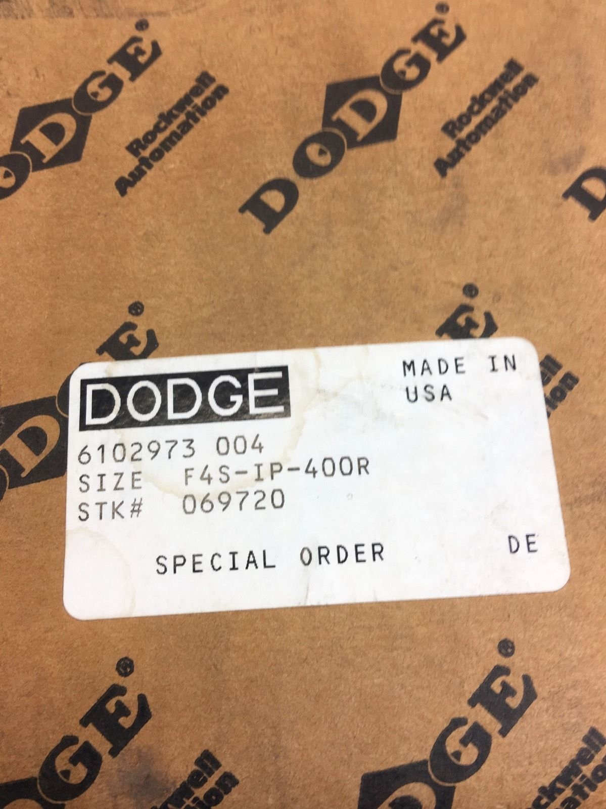NEW IN BOXÂ DODGE 069720 F4S-IP-400R FLANGE BEARING, FAST SHIPPING! (B377) 2
