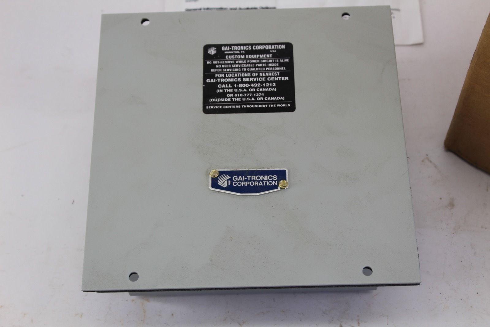 GAI-Tronics Amplifier Remote GTK85104B *NEW* (B232) 5