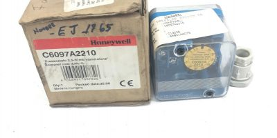 NEW IN BOXÂ Honeywell Gas Pressure Switch C6097A2210 STAND-ALONE, FAST SHIP, B275 1