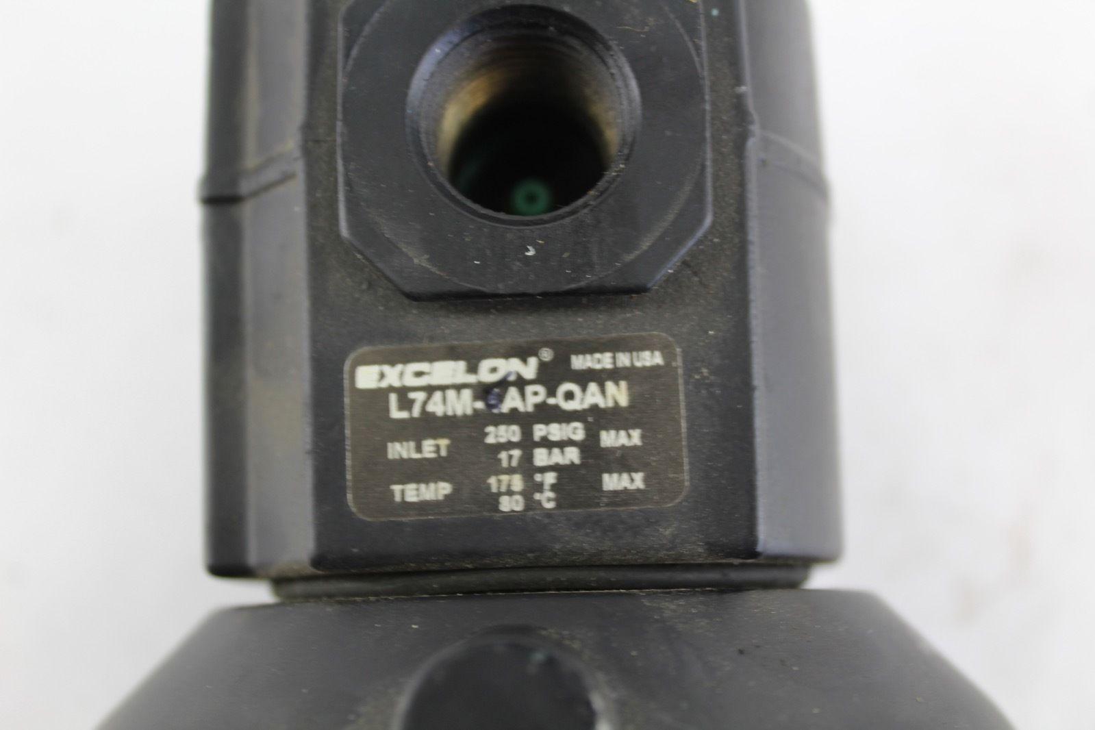 Excelon L74M-6AP-QAN Air Regulator *NEW* (B274) 2