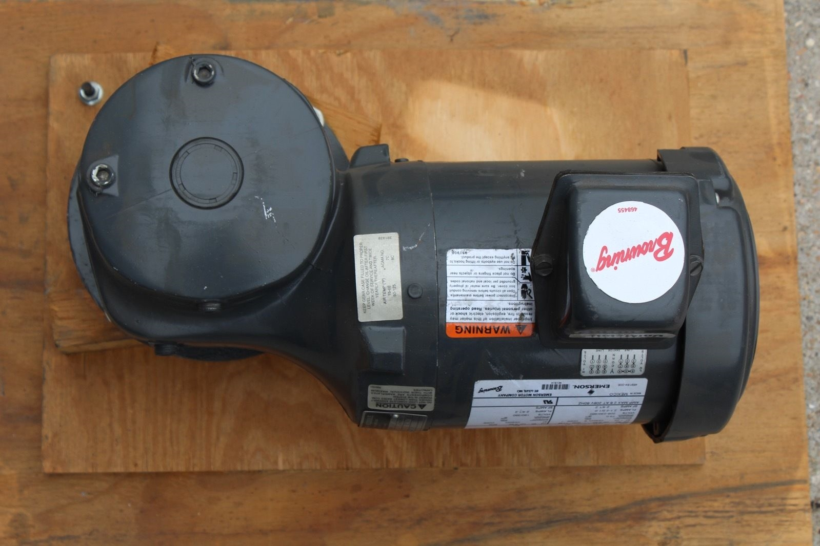 Browning E181 Motor w/Syncrogear Module E453/J0181076N Type: 6WVP *NEW* (connex) 1