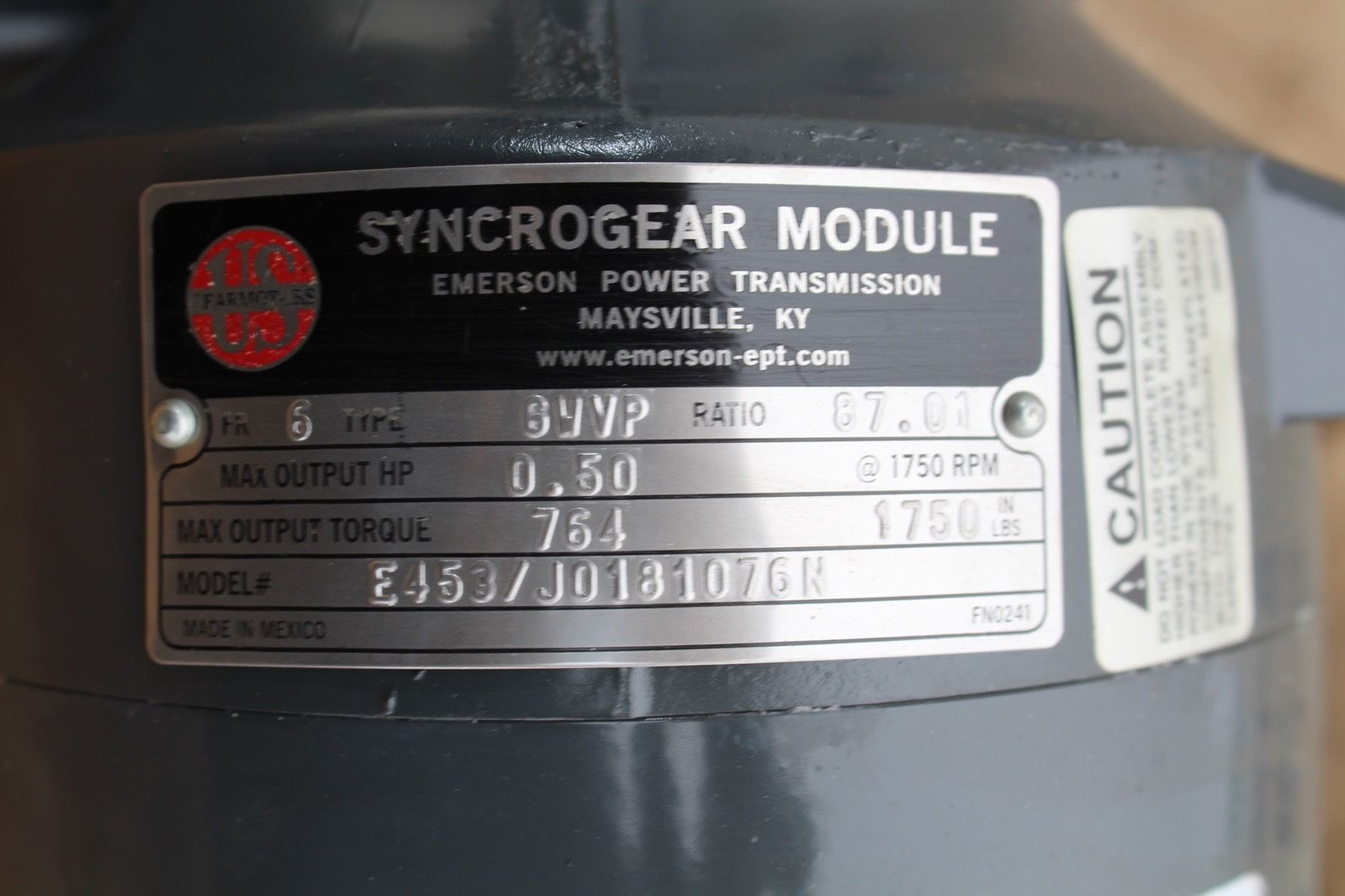 Browning E181 Motor w/Syncrogear Module E453/J0181076N Type: 6WVP *NEW* (connex) 2