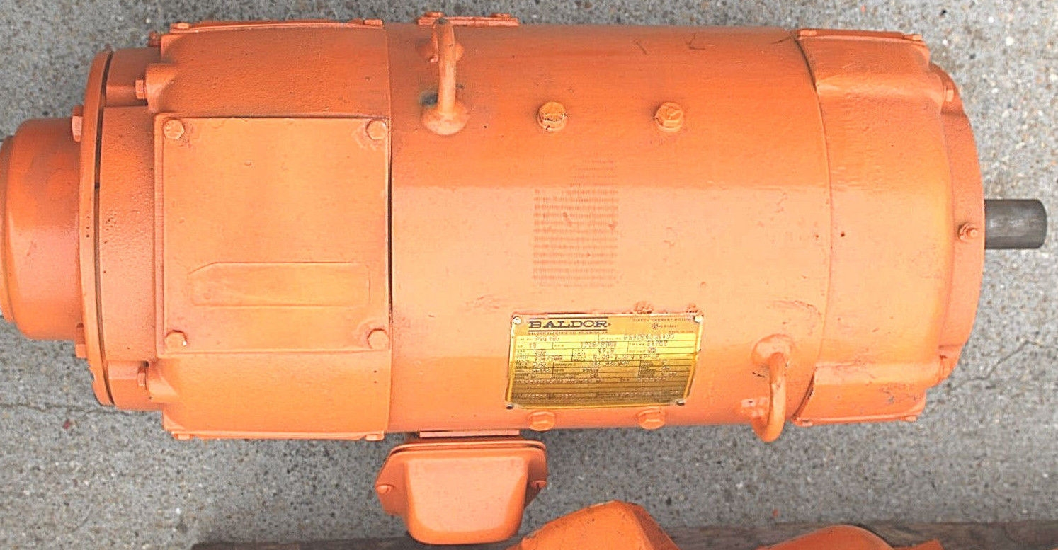 Baldor DC Motor Cat: D5010P Model: P21921480148 *NEW* (Connex) 1
