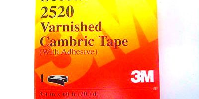 FAST SHIP! 3M SCOTCH 2500 VARNISHED CAMBRIC TAPE (F222) 1