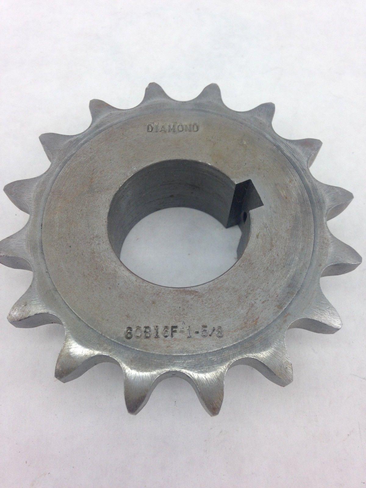 DIAMOND 60B16F 1-5/8 SPROCKET (A830) 1