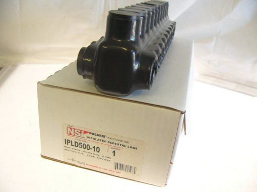 IPLD500-10 POLARIS DUAL-SIDED ENTRY INSUL MULTI-TAP CABLE CONNECTOR BLOCK 7