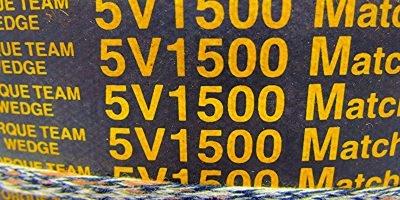 FAST SHIP! GENUINE GOODYEAR TORQUE TEAM HY-T 6/5V1500 V-BELT NEW! (BELT 59M) 1