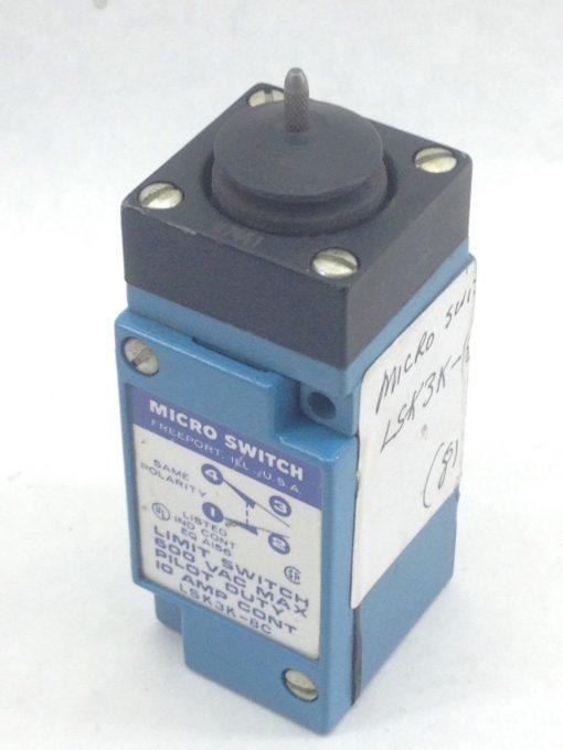 MICRO SWITCH LSK3K-8C LIMIT SWITCH – PILOT DUTY 600VAC MAX (A832) 2