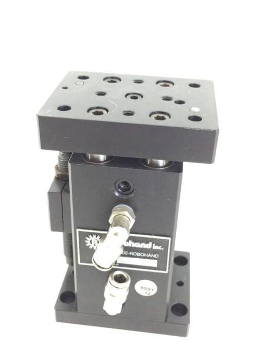 ROBOHAND PLT-500-I-V 4-SHAFT POWER LIFT TABLE VALVE (H296) 1
