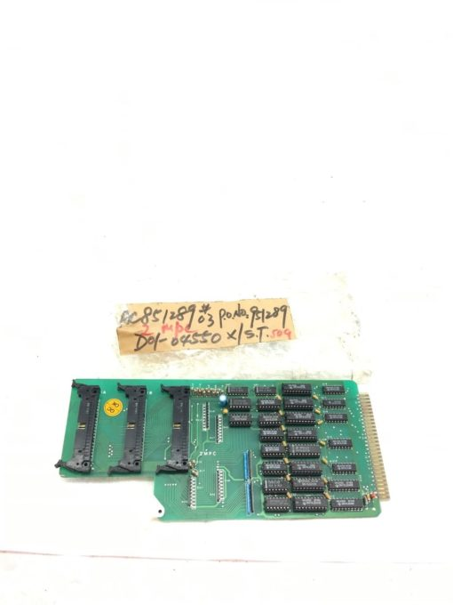 USEDÂ CHEVALIER PT-068-004-00 2MPC CIRCUIT CARD PC BOARD, FAST SHIPPING! B338 1