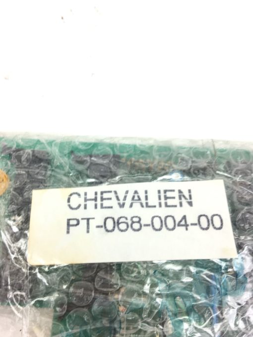 USEDÂ CHEVALIER PT-068-004-00 2MPC CIRCUIT CARD PC BOARD, FAST SHIPPING! B338 2