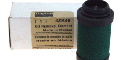 DAYTON (SPEEDAIRE) OIL REMOVAL ELEMENT 4ZK46 (DARK GREEN) NEW IN BOX! (F15) 1