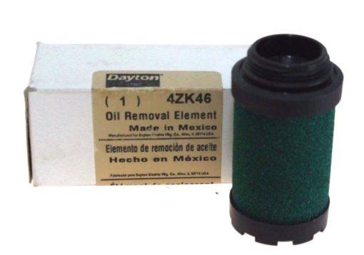 DAYTON (SPEEDAIRE) OIL REMOVAL ELEMENT 4ZK46 (DARK GREEN) NEW IN BOX! (F15) 1