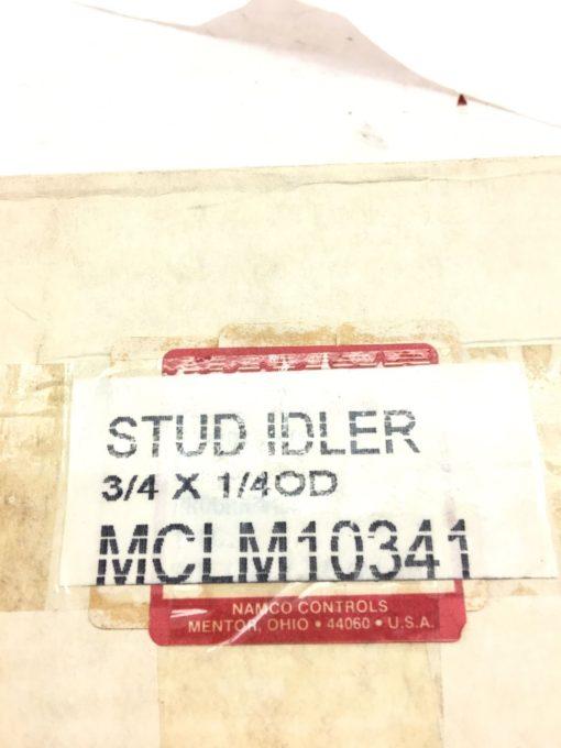 NEW IN BOX OF 21 NAMCO CONTROLS STUD IDLERS, 3/4 X 1/4 OD, FAST SHIP! (B386) 2
