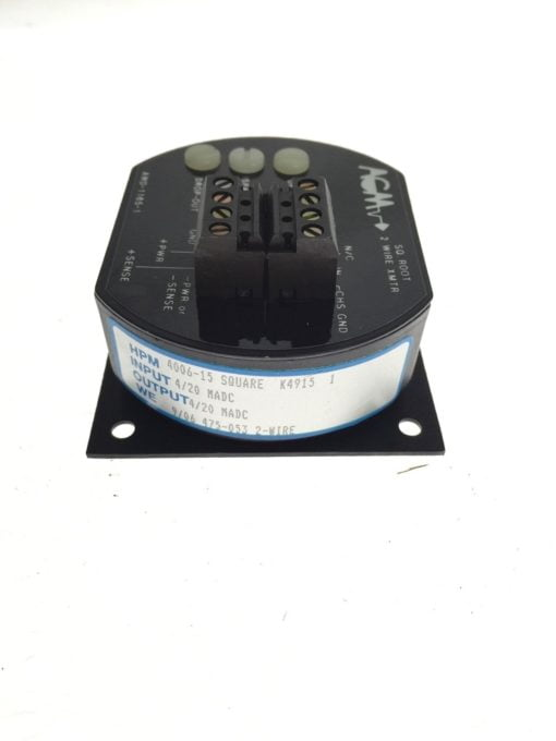 AGM ELECTRONICS AWD-1165-1 SQUARE ROOT 2 WIRE XMTR NEW NO BOX H99 2