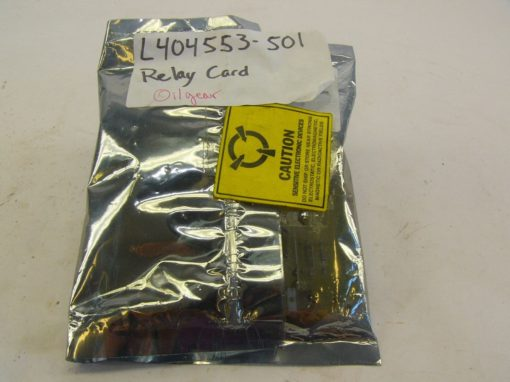 OILGEAR L404553-501 RELAY CARD NEW IN SEALED PACKAGE!!! (F142) 1
