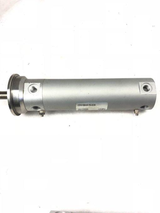 NEW SMC CDG1BA32-75-XC6 AIR CYLINDER MAX PRESS. 1