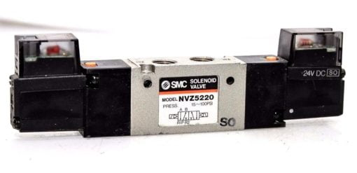 SMC NVZ5220 24VDC 15-100PSI 4/5 PORT SOLENOID PILOT VALVE! FAST SHIPPING! (F17) 1