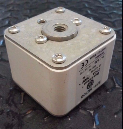 New Copper Bussmann SPP-6K700 700 Amp 700 Volt BUSS SEMITRON Fuse (H104) 2