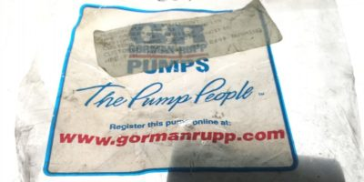 GORMAN RUPPÂ 31133-180 12040Â RR IDLER BUSHING SG, NEW IN FACTORY BAG, H106 1