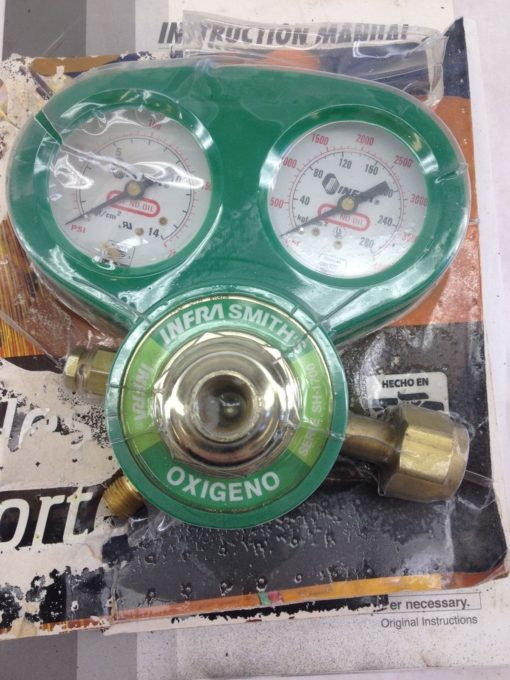 NIB! INFRA SMITH SERIES SH-1700 OXYGEN REGULATOR GAUGE FAST SHIP!!! (H146) 1