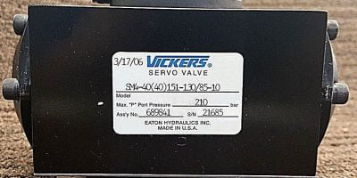 *New* SM4-40(40)151-130/85-10 Servo valve (B176) 1