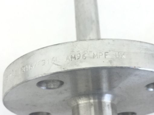 NNB! SS THERMOWELL 12.25â? 4-BOLT FLANGE 3/4″NPT 1.5 150LB B16