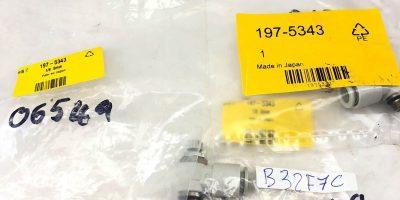 (3) SMC AS2201F-U01 197-5343 SERIES FLOW REGULATOR X 8MM TUBE OUTLET PORT, (A844 1