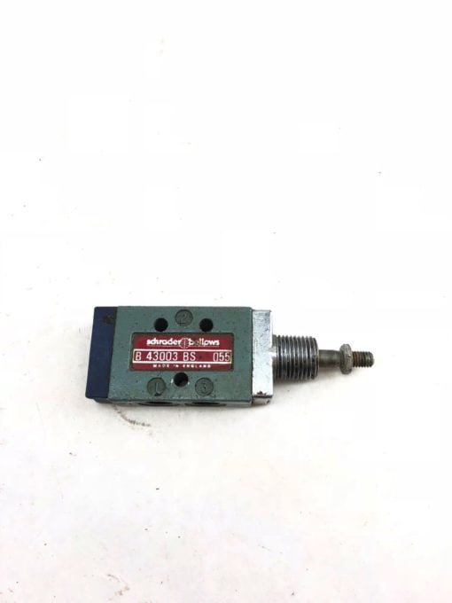 USED SCHRADER BELLOWS PARKER B43003BS VALVE B 43003 BS, FAST SHIP! (A844) 1