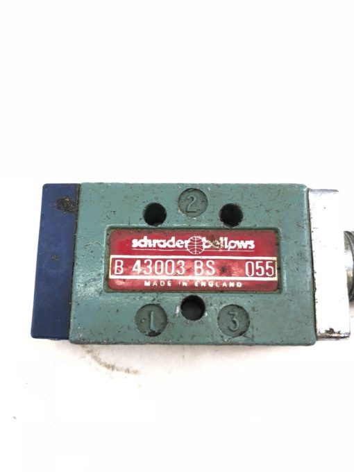 USED SCHRADER BELLOWS PARKER B43003BS VALVE B 43003 BS, FAST SHIP! (A844) 2