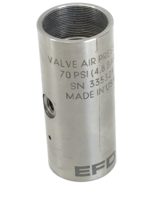 NEW! NORDSON EFD781 SS AIR CYLINDER BODY 7021832 (A615) 1