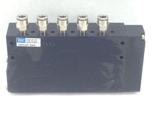 NNB! MAC 34B-L00-GDC0-1DV CIRCUIT BAR BLOCK, 10 DIRECTIONAL SOLENOID VALVES(H230 1