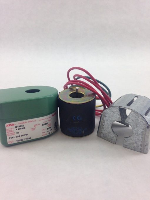 ASCO 8215B060 RED HAT SOLENOID COIL REPLACEMENT 099257-001-D COIL (H232) 3