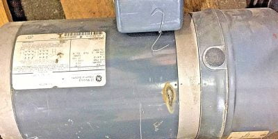 GENERAL ELECTRIC GE 5K49PN4204A ELECTRIC MOTOR 3 PHASE 1725RPM 3/4HP (NP14) 1