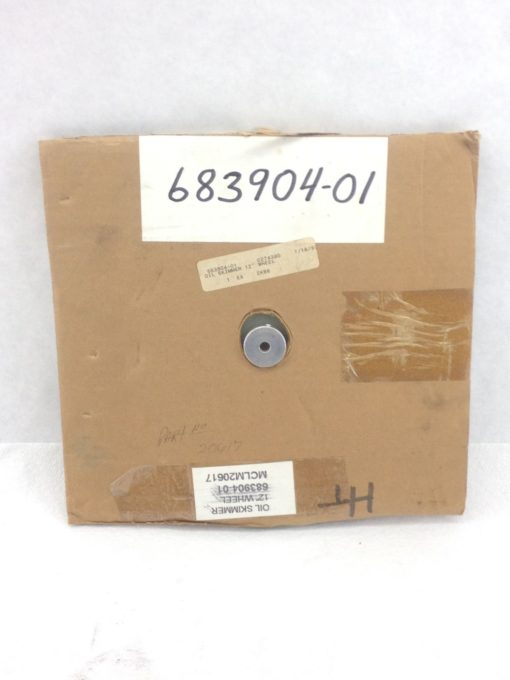 NEW! 683904-01 12� DIA REPLACEMENT DISK, OIL SKIMMER C274380 1/4� BORE (B85) 1
