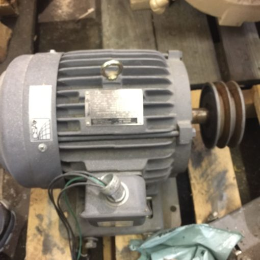 GENERAL ELECTRIC GE 5KE182BC205A 3HP 3 PHASE VOLTS 230/460 1750RPM (NP14) 1