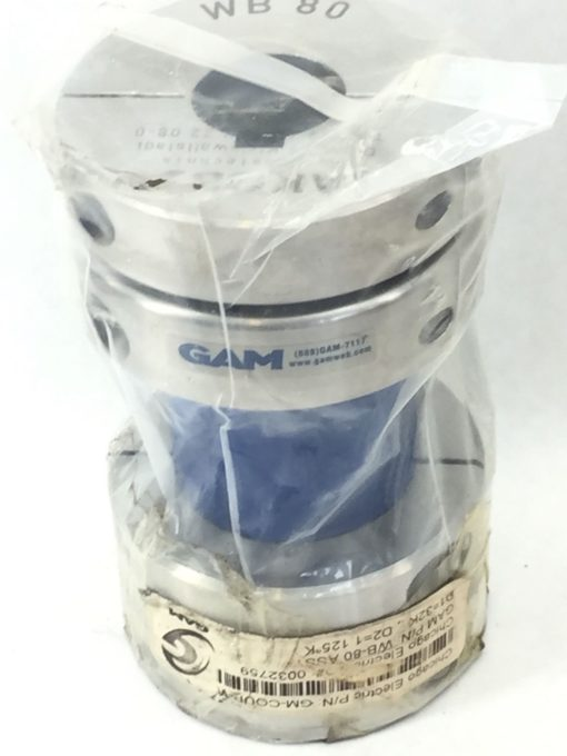NEW! JAKOB GAM WB80 COUPLING ASSEMBLY (H275) 1