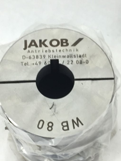 NEW! JAKOB GAM WB80 COUPLING ASSEMBLY (H275) 2