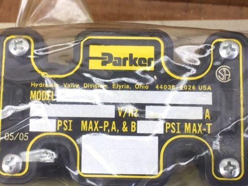 NIB! PARKER HYDRAULICS D1VW001CNYCF4 DBL SOLENOID VALVE (H275) 3