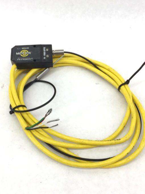 TRI-TRONICS MDHR MITY-EYE F4-FIBER OPTIC SENSOR with CONNECTOR (A616) 1