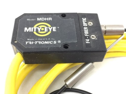 TRI-TRONICS MDHR MITY-EYE F4-FIBER OPTIC SENSOR with CONNECTOR (A616) 2