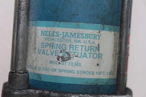 NELES-JAMESBURY ST13MS 13FT STROKE SPRING RETURN VALVE ACTUATOR FAST SHIP (B127) 3