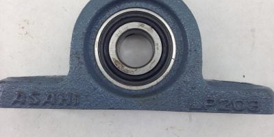 ASAHI LP203 PILLOW BLOCK RHP 1217-17G BEARING INSERT (F153) 1