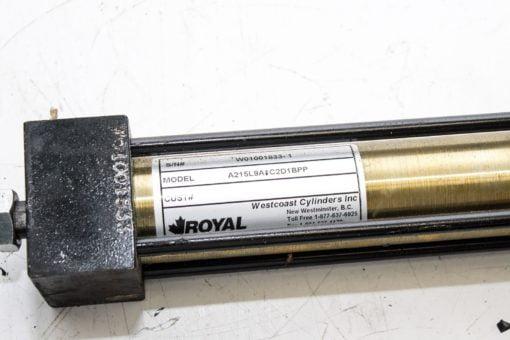 WESTCOAST ROYAL AIR CYLINDER A215L9A1C2D1BPP 1